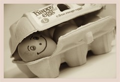 Cake Ingredient 2... (Nancy Lisa Barrett) Tags: light happy baking focus textures eggbox egges
