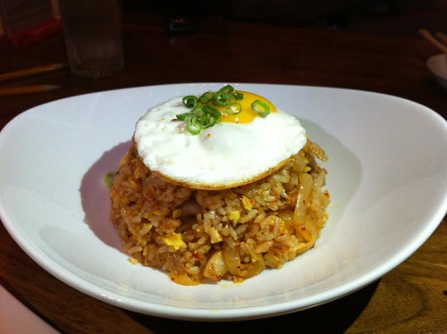 Pork Kimchi Fried Rice @ Miso