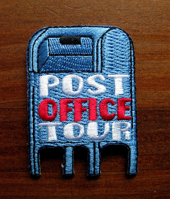 Post Office Tour patch 1
