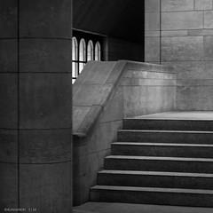 Brancas Style (KLAVIeNERI) Tags: architecture munich photography reconstruction pinakothek bwconverted leicaforum leicax1 leicaimages ilovemyleica lightroom5 alexandervonbrancas