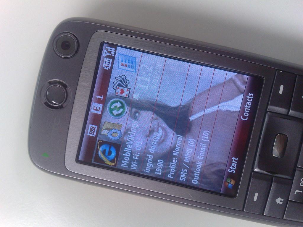 Mobile Vikings first SIM card