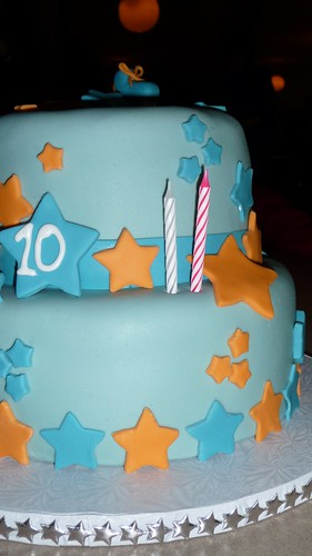 Star Cake 3 (Candles)