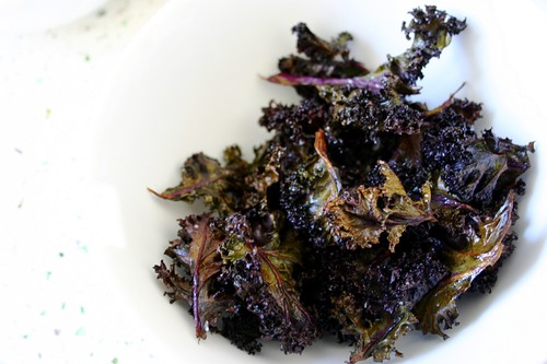 kale chips are surprisingly really good