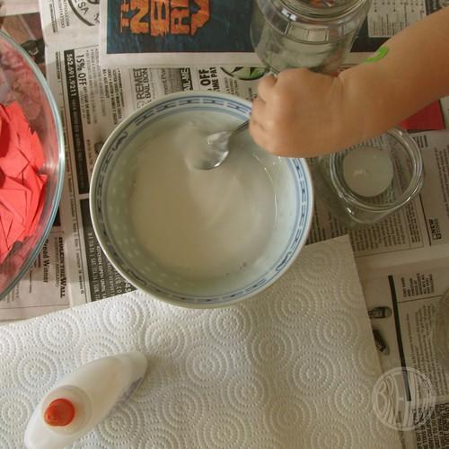 glue water