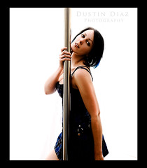 This is what I have to come home to everyday! (Dustin Diaz) Tags: lighting portrait dance pole plaid erincaton