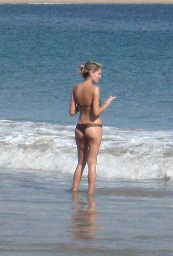 Thong Bikini at Tenacatita II