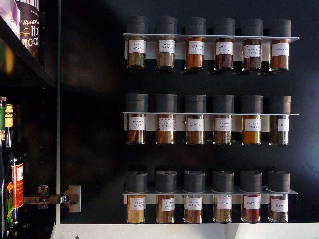 Ikea Rationell Variera Spice Rack ~ Spice jars  Door Sixteen