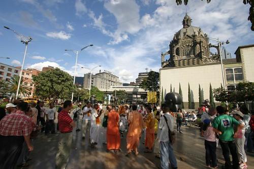 Hare Krisnas in Medellín...