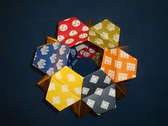 "Origami ""Little Turtle Unit"" Hexagonal Antiprism  (Modular Origami) (Origami Tatsujin 折り紙) Tags: art colors paper paperart origami geometry modular sonicboom fold create multicolored japaneseart papiroflexia module papercraft unit papercrafts polyhedra modularorigami おりがみ multidimensional 折り紙 geometricbeauty geometricart cooperativelearning colorfulart origamipolyhedra analyticalgeometry origamitutorial mathematicsofpaperfolding mathematicsorigami origamitechniques"