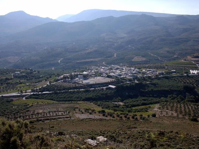 Κρήτη - Λασίθι - Δήμος Λεύκης Η Συκιά από το λόφο του Αι Λιά