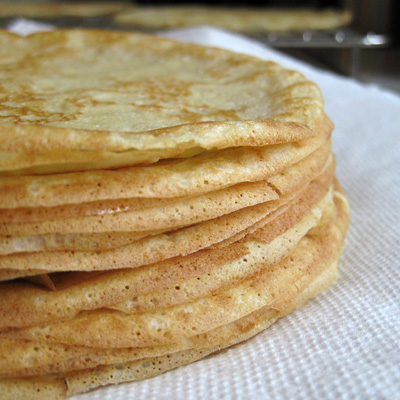 crepes stack