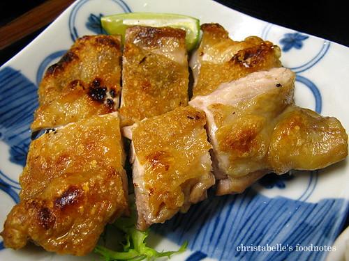 慶城街日式路邊攤定食原味烤雞排