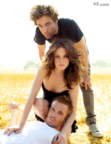 kristen stewart and robert pattinson vanity fair photo shoot. vanity fair shoot