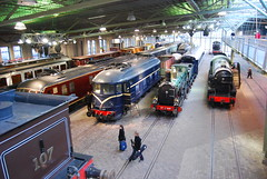 Railway Museum (28) (jimforest) Tags: railways railroads spoorwegmuseum oldtrains trainmuseums