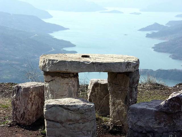 Στερεά Ελλάδα - Ευρυτανία - Τοπία Η Λίμνη των Κρεμαστών από τα Φιδάκια