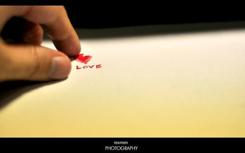 L.O.V.E by rexmen.