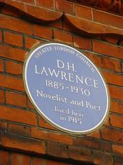 D.H. Lawrence (Tetramesh) Tags: uk greatbritain england london unitedkingdom britain londres hampstead londra londen dhlawrence londinium lontoo llondon londyn llundain londn  londona londain londono londonas tetramesh londrez  loundres londr lndra