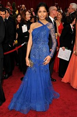 Actress Freida Pinto arrives at the 81st Annual Academy Awards h