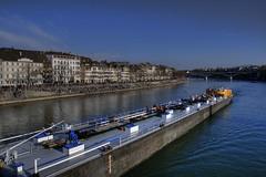 Basel (dongga BS) Tags: sun water river schweiz switzerland warm wasser basel blau ufer fluss sonne rhin genuss kleinbasel aplusphoto tamronspaf1750mmf28 tamronspaf1750mm