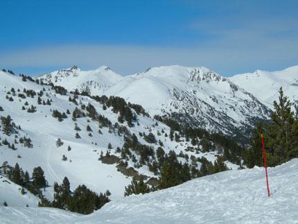 Nieve, nieve y más nieve