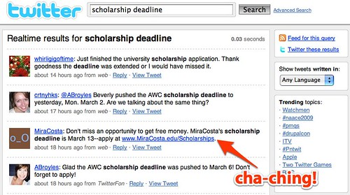 scholarship deadline - Twitter Search