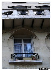 Immeuble Jassede (JP2H) Tags: house paris france building architecture liberty arquitectura artnouveau architektur 75 arrondissement iledefrance modernismo immeuble guimard jugendstil 16e seizieme jassede xvie