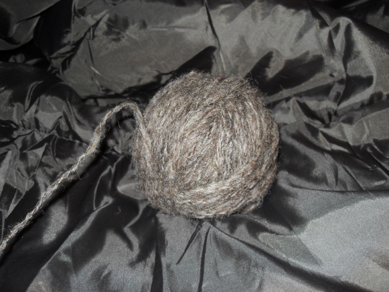 sheep wool in ball