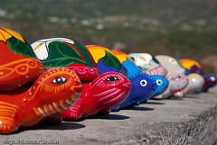 Artesana de Taxco (chblet) Tags: mxico colores tortuga taxco artesana handcraft guerrero 100 chablet colorfullaward