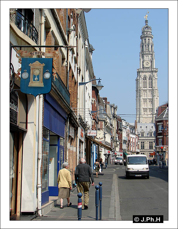 Arras - beffroi