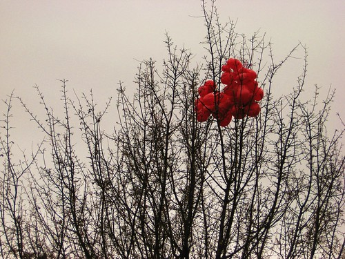 Sad, Red Ballons