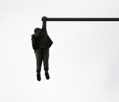 David Cerny's Hanging Man (1)
