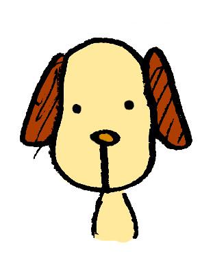 犬チャコール