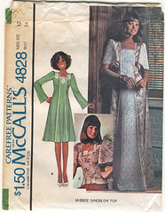 McCalls 4828 1975 (R.O.Holcomb) Tags: vintage pattern sewing 1975 mccalls 4828