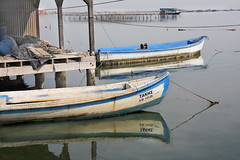 resting on the water (eleni vraka (e_vra)) Tags: sea color boats greece ev halastra
