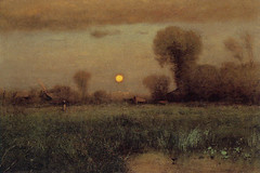 Harvest Moon, by George Inness