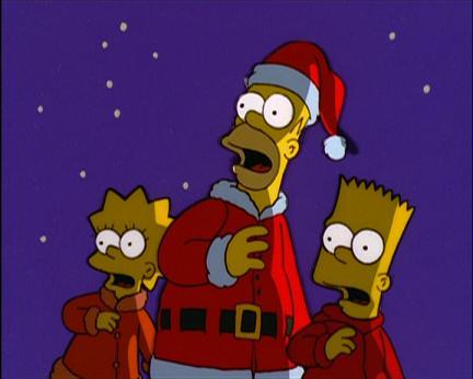 simpsons navidad