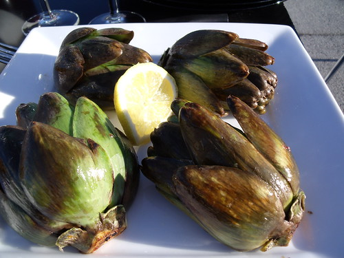 grilled artichoke, via Flickr