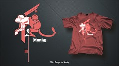 Munky - Shirt Design 02 (noelevz) Tags: shirt design
