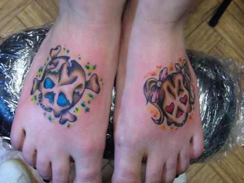 More foot tattoos at wwwfoottattoocom
