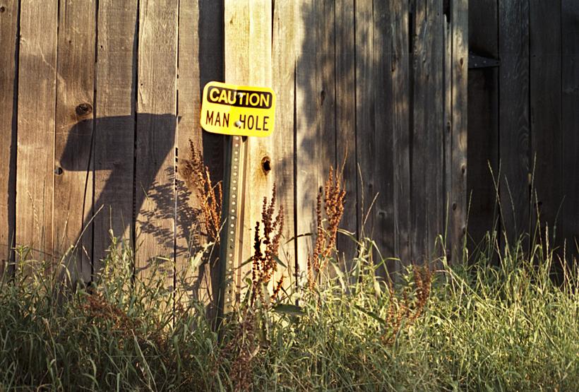 Caution Manhole 2