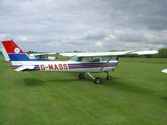 Cessna 152  G-MASS (Old Buck Shots) Tags: dm cessna airfield 152 buckenham gmass oldbuckenhamairfield egsv