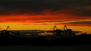 Sunset at Botany Bay