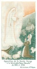 Le Laus, Apparition de la Sainte Vierge