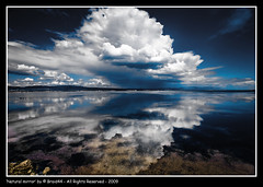Natural mirror ( Pere Soler) Tags: sea sky storm reflection clouds interestingness bravo 26 explore frontpage bratanesque braid44 vosplusbellesphotos