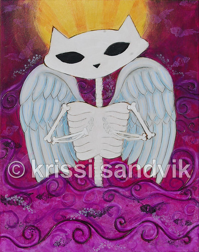 Skelekitty (angel) in progress
