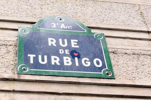 Rue de Turbigo mon coeur