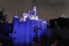 Sleeping Beauty Castle (Walt Disney Imagineering) Tags: california park sleeping castle 1955 beauty lens nikon disneyland july disney adventure 17 nikkor walt d3 1424mm