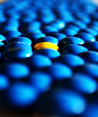 One In A Million You (kellinasf) Tags: blue yellow mms unique day70 hmb oneinamillion blueribbonwinner project365 ignisart msh0509 365community msh05093