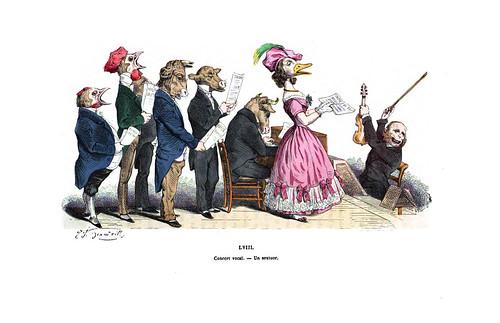 003-Les métamorphoses du jour (1869)-J.J Grandville