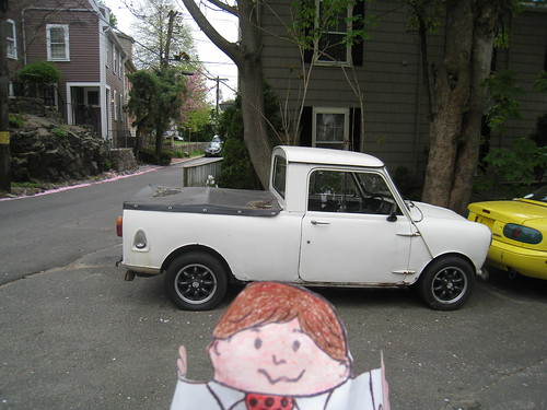 flat stanley: mini truck